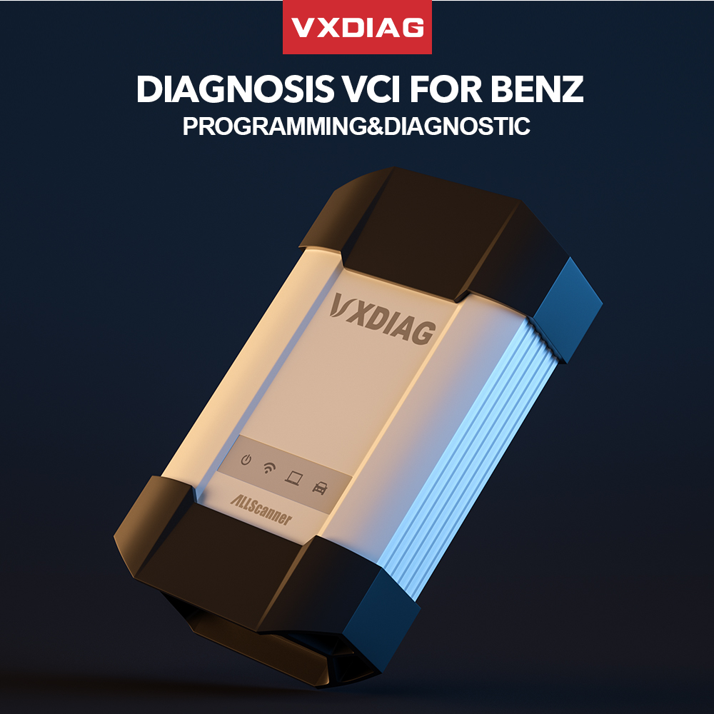 VXDIAG VCX C6 For Benz Professional Car Diagnostic Tool SD Connect Better Than MB Star C4 C5 Wifi Obd2 Code Scanner Programming