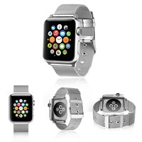 Milanese Stainless Steel Band For Apple Watch 38mm 42mm Band Milanese Loop For Iwatch Series 1
