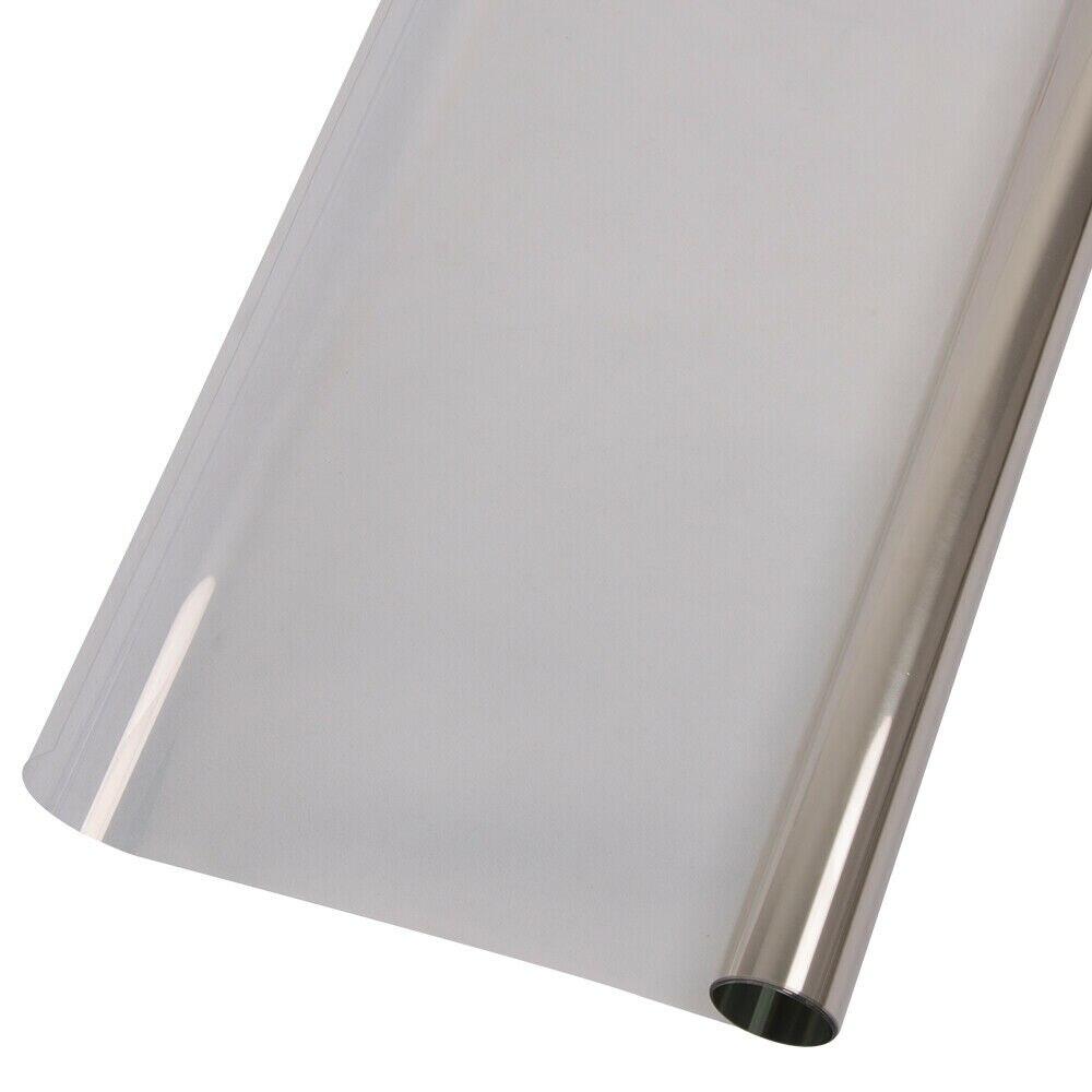 2mil/0.05mm contrôle de la chaleur Sputter solaire teinte Film lumière or Auto-adhésif Auto voiture avant fenêtre teinte Film 70% VLT feuilles 1.52x2 m
