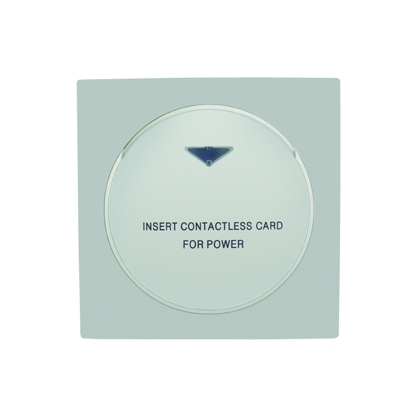 Access Control Accessories Able 13.56mhz White Hotel Mifare S50 Rfid Card Switch With Room Number And Check In Time Limit Function Energy Saver Saving Switch