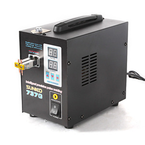 Image 2 - SUNKKO 737G battery Spot Welder 1.5kw Precision Pulse Spot Welder Led Light Welding Machine Use 18650Battery Nickel Strip Welder
