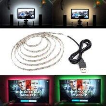 Светодиодная лента 3528 smd для подсветки телевизора 5 В usb