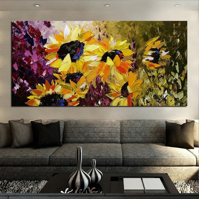 Abstraite moderne HD Imprimer Fleur Van Gogh Tournesol Peinture sur Toile Mur Photo Art Affiche pour.jpg 640x640 Résultat Supérieur 1 Inspirant Canape Jaune Und Galerie Street Art Pour Salon De Jardin Image 2017 Sjd8