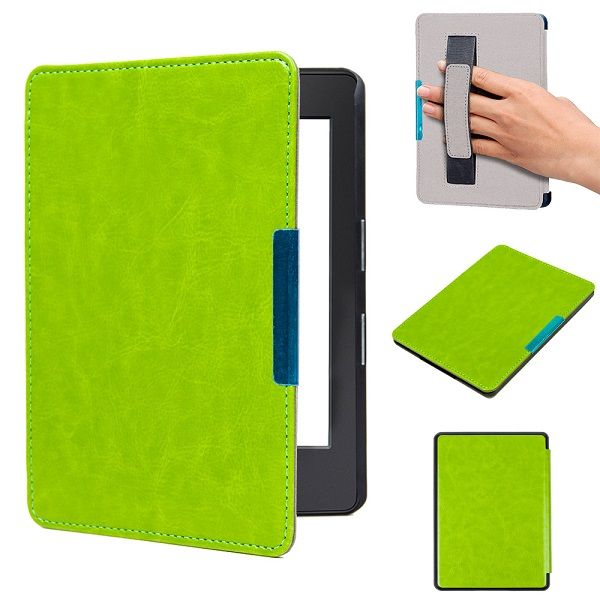 Folio magnetic PU leather cover case smart wake up/sleep cover for 2016 All-New Kindle (8th Generation 2016)ereader cover case case cover for kindle paperwhite 123 ebook pu leather folio flip smart sleep wake up protective case cover vintage texture