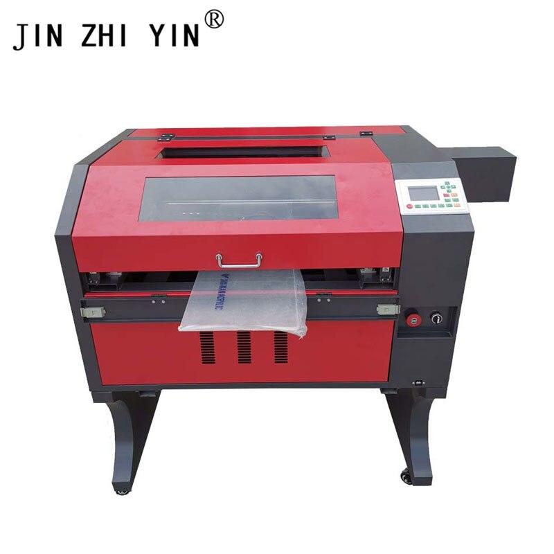 4060 Crystal Laser Cutting Engraving Machine Laser Engraver 60W Ruida 6442s Controller Engraving Laser Machine