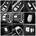 Voiture style intérieur boutons paillettes décoration couverture garniture autocollant décalcomanies pour BMW F30 F34 3/4 série GT Auto accessoires