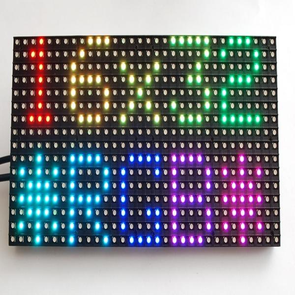 2017 2018 --- hd p6 Leeman 16x32 P6 RGB smd sexo vídeo HD RGB Interior Display Dot Matrix 32*32 Full Color P4 SMD Conduziu o Módulo 2R1G1B