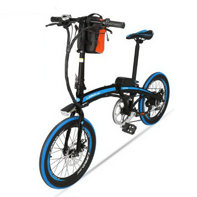 tb311105 electric bicycle 20 inch 36 48v folding lithium. Black Bedroom Furniture Sets. Home Design Ideas