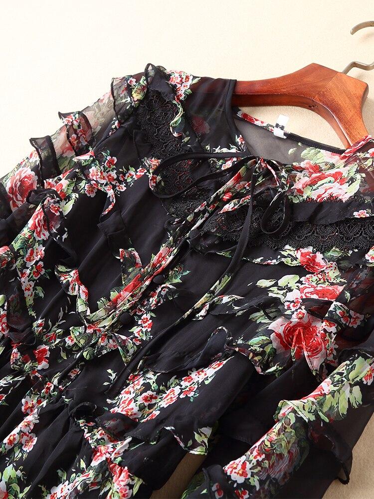 Style Qualité Supérieure Marque De Ws01551 Robe Design Luxe Européenne Printemps Mode Partie Nouvelle 2019 Femmes OAOfnr