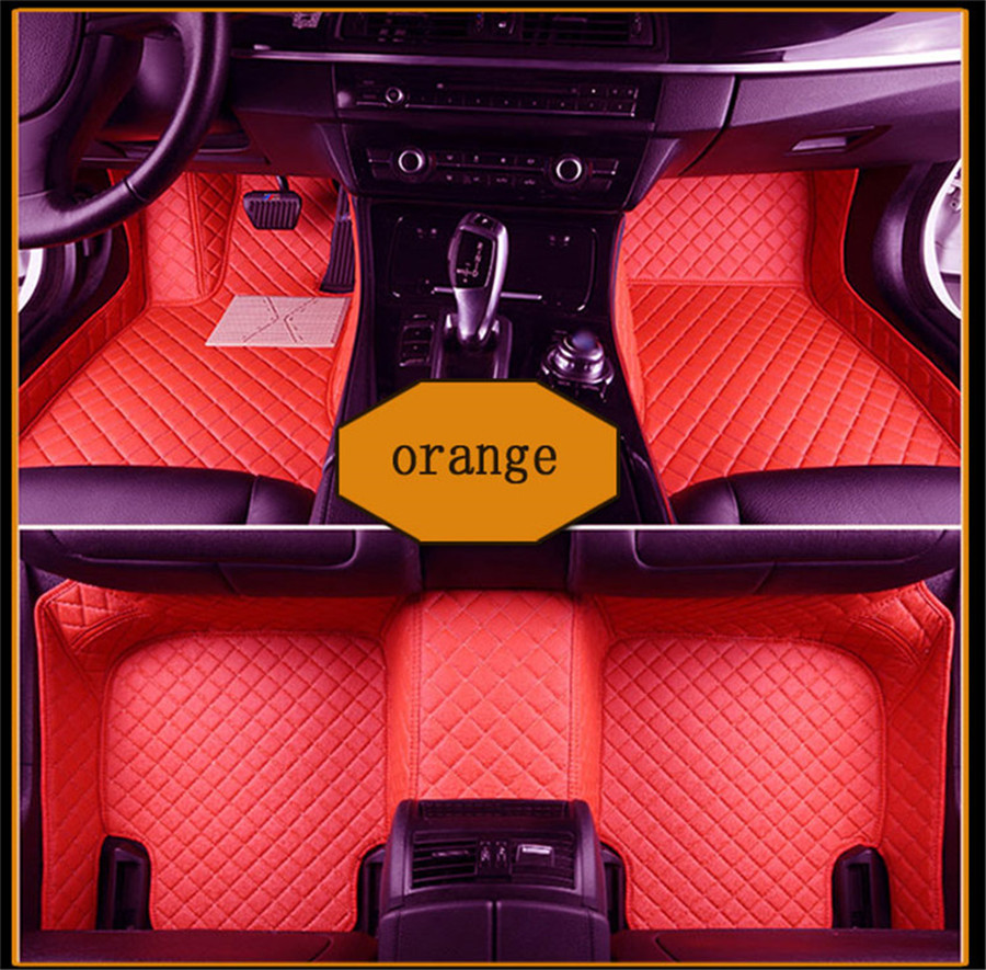 TENGRUI Car-Styling Carpet Custom Car Floor Mats for Audi A1 A3 A4 A4l A5 A6 A6L A7 A8 Q3 Q5 Q7 S and RS series car mats