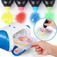 New Arrival DIY 3D Magic Machine Printer Enlighten Painting Draw Kids Developmental Toy Gift