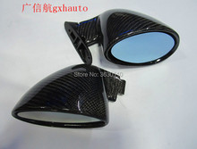 Universal F1 Style Top Racing Carbon Fiber Side Mirror For Benz W204 W207 GLK 350 one pair (R+L) Not original