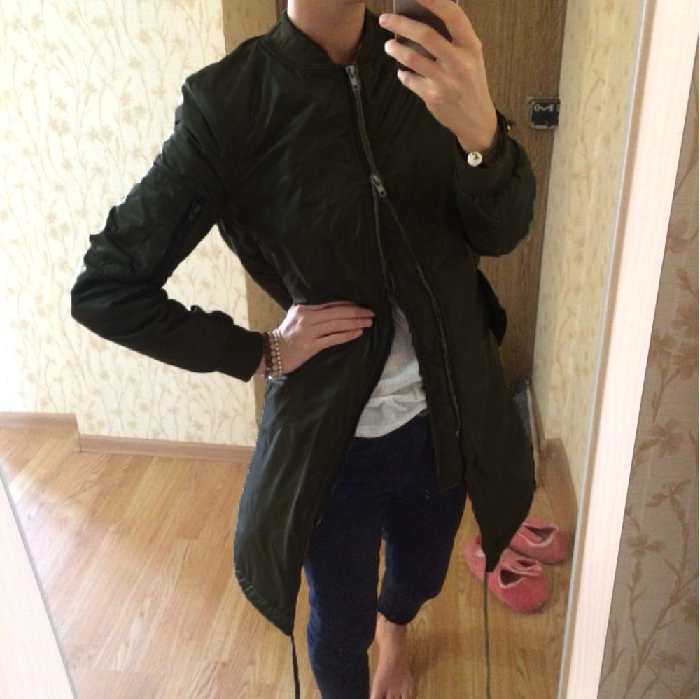 Jrnnorv Winter Long Jackets And Coats Spring Female Coat Casual