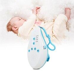 De dormir del bebé máquina de ruido blanco chupetes sonido disco Sensor de voz con 8 sonido relajante de Auto-temporizador monitor de bebé