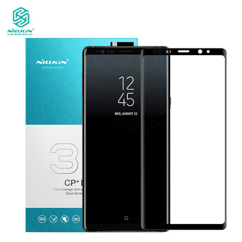 Nillkin 3D courbe plein écran en verre pour Samsung Galaxy Note 9 Anti-Explosion protecteur film CP + Max Protecteur pour Samsung note9