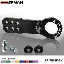 Универсальный Все модели автомобиля трейлер крюк алюминиевый буксировочный крюк Буксировочный гоночный передний EP-TH01F