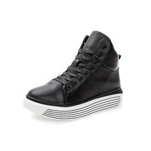 2016 Women shoes genuine leather fashion warm women's snow shoes for women black color big size (35-39)