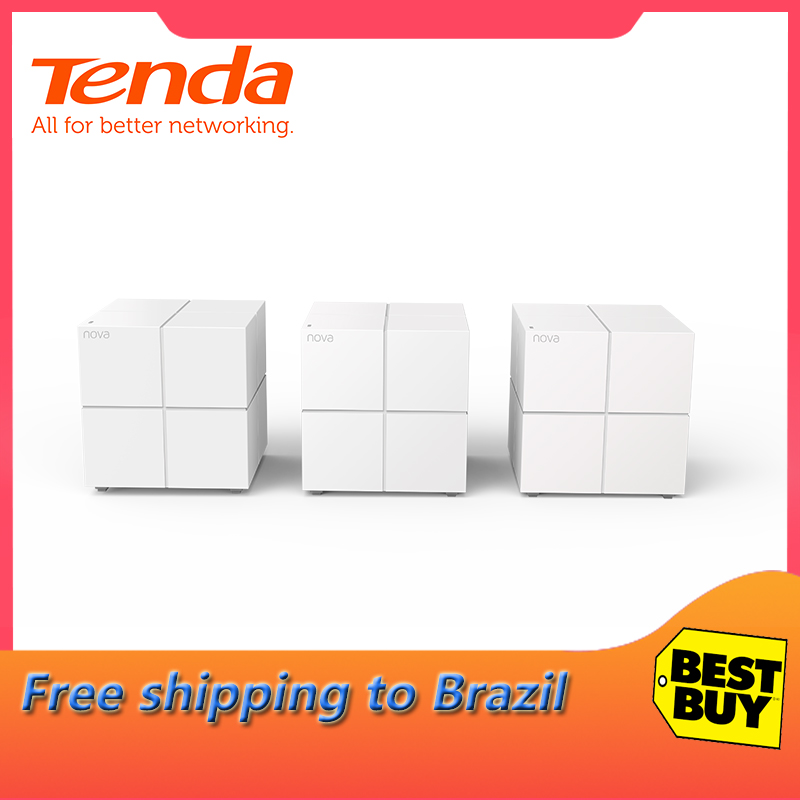 Tenda Nova MW6 Whole Home WiFi Wireless Router Mesh WiFi Gigabit System Mesh Wifi Router With AC1200M 2.4G/5.0GHz And Repeater