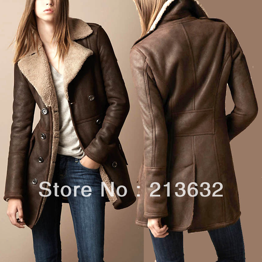 Aliexpress.com : Buy Double Breasted Elegant Luxury Winter coat