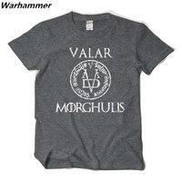Song Of Ice And Fire Right Game Valar Morghulis MORGHULIS VALAR Short Sleeved T Shirt
