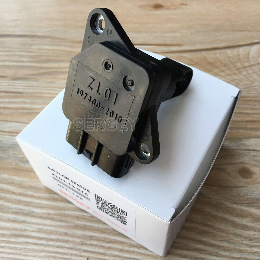 Originele Mass Air Flow Meter MAF Sensor Voor MAZDA 3 5 6 PROTEGE MX-5 MIATA ZL01 ZL0113215 ZL01-13-215 197400- 2010 1974002010