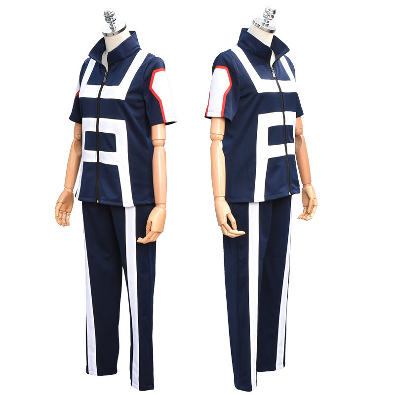 JP hero bakugou katsuki / Iida tenya / todoroki shouto Cosplay costume my hero Academy Sports Tops corrective + Pants for girl|Movie & TV costumes| - AliExpress