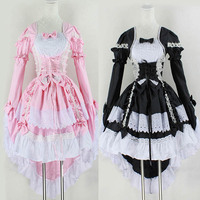 Women Angel Princess Dress Maid Cosplay Fantasy Carnival Party Costumes Clothes MX8