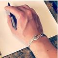 La llave de la vendimia del brazalete de la joyería de moda para hombre pareja brazalete pulseras de los hombres de moda hombre brazaletes de acero titanium