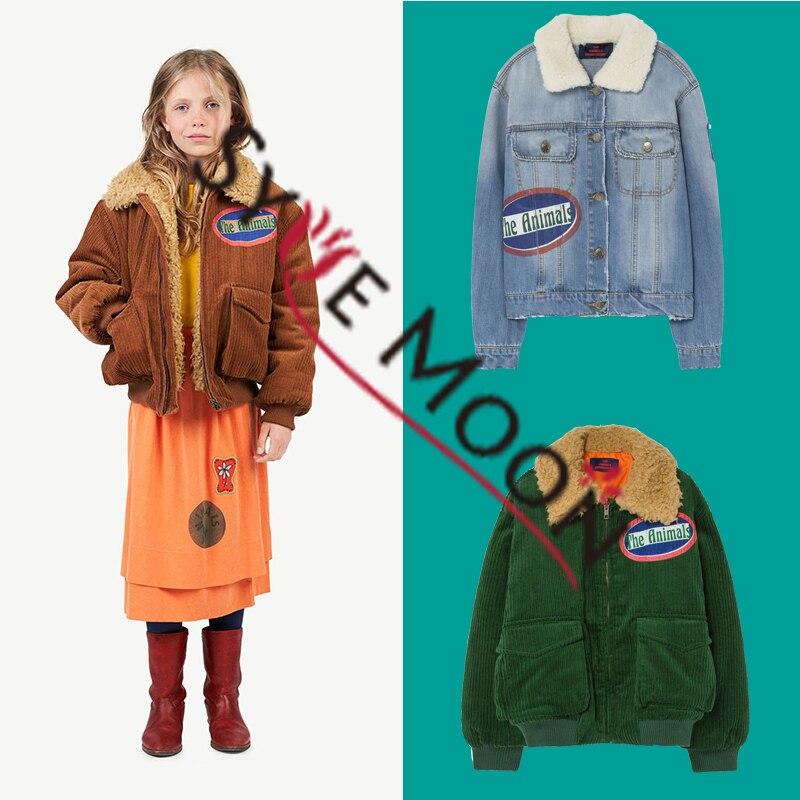 2019 New TAO Brand New Autumn Winter Kids Jacket Boys Girl Fashion Print Thicken Coat Baby Children Cotton Warm Clothes Outwear