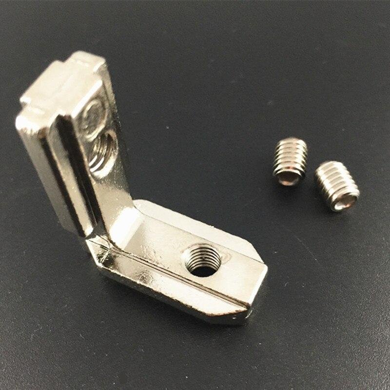 100 pi/èces M5 T/ête de marteau T-slot Nut Pour 20 s/éries profil/é en aluminium europ/éen