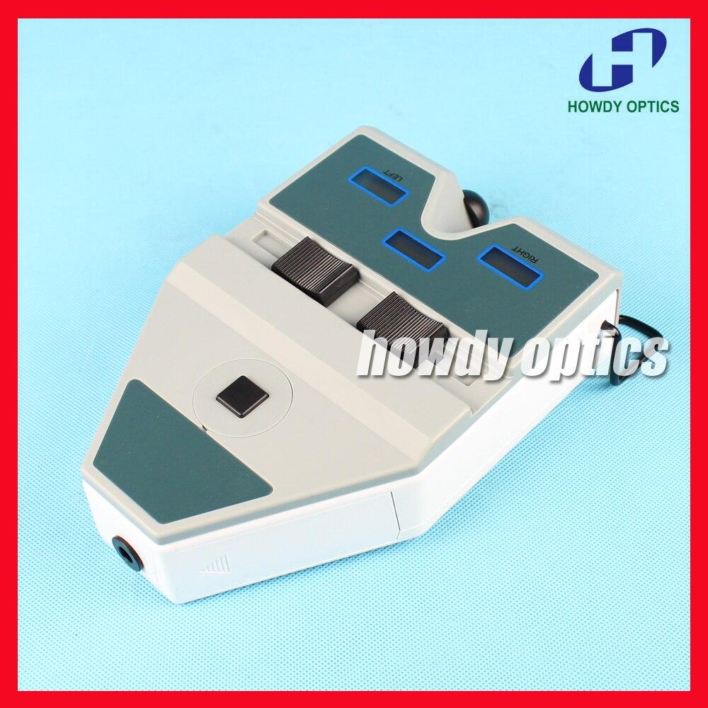 Digital PD meter Optical pupilometer Pupil distance meter LED light