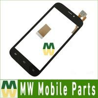 1 pc/lote Alta Qualidade Para Qumo Da Quest 452 IPS tela de Toque de Vidro Digitador da Tela de Toque Cor Preta com ferramentas & fita