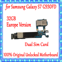 32gb Original unlocked for Samsung Galaxy S7 G930FD Motherboard,EU Version for Galaxy S7 G930FD Logic board