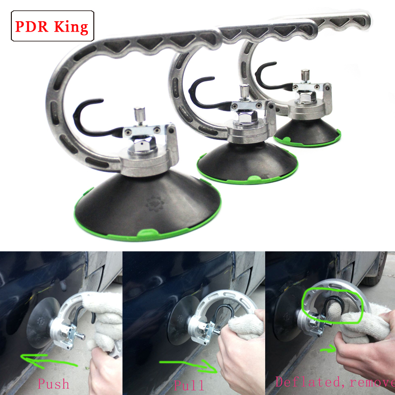 125mm 100mm 75mm Dent Puller Suction Cups PDR KING Tools Suction Cups For Paintless Dent Repair Dent Puller Suction Cup For Car