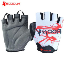 BOODUN Summer Breathable Bike MTB Cycling Gloves Women Men Bicycle Racing Guantes Ciclismo Half Finger