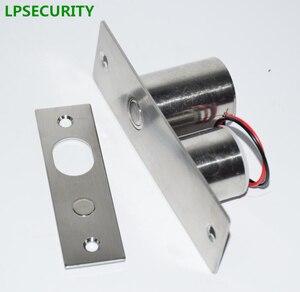 Image 2 - LPSECURITY 800 キロ重量ゲートドアアクセス制御システム電気磁気ガラスドアロックドロップボルトデッドボルト