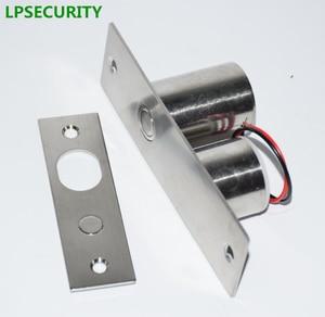 Image 2 - LPSECURITY, système de contrôle daccès pour porte, poids de 800kg, serrure de porte en verre magnétique, boulon tombant
