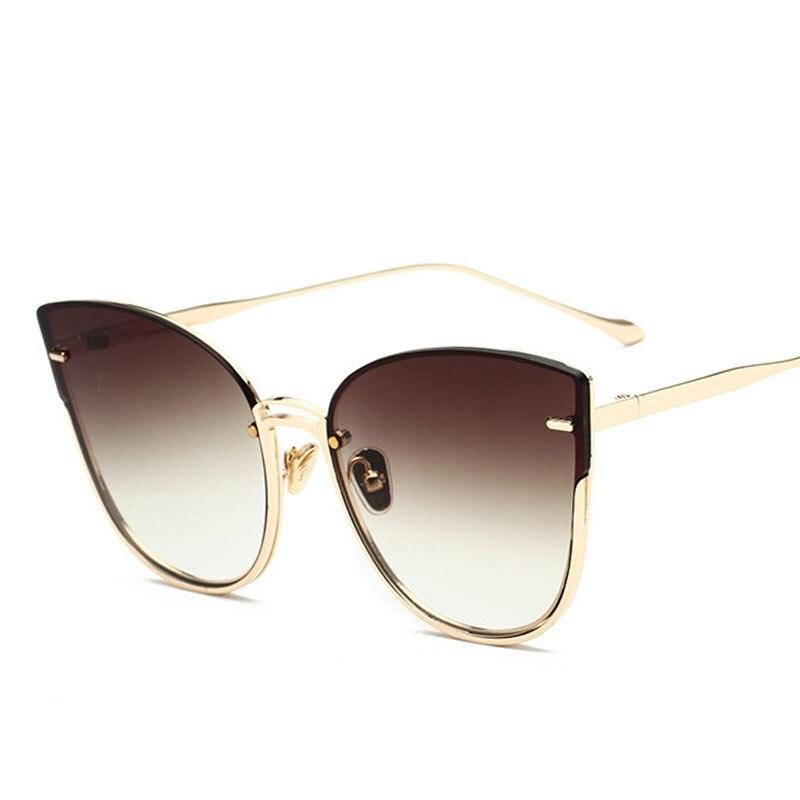PAWXFB 2019 Fashion Cat Eye Sunglasses Women Purple Vintage Glasses for Women Female Retro Sun Glasses Eyewear Gafas UV400 in Women 39 s Sunglasses from Apparel Accessories