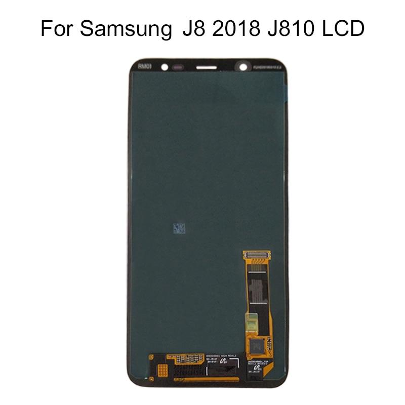 For Samsung Galaxy J8 2018 J810 Screen LCD Display + Touch Screen Screen Adjust Brightness Pancel SM-J810 LCD ReplacementFor Samsung Galaxy J8 2018 J810 Screen LCD Display + Touch Screen Screen Adjust Brightness Pancel SM-J810 LCD Replacement