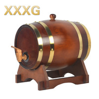XXXG//3L Wine oak barrels of wine barrels barrels of wine storage cask wine wooden casks Keg Cask Brewing Inner Tant Metal