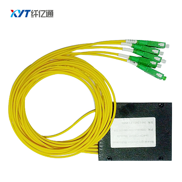 Communication Equipment Single fiber 4 channel CWDM Multiplexer MUX or DEMUX