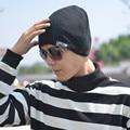 Vogue Hat Unisex Hat Head Set Korean Men Women Tide Turban Hat Knitted Cap Street Dance Skullies Beanies Chapeau Hiver Homme