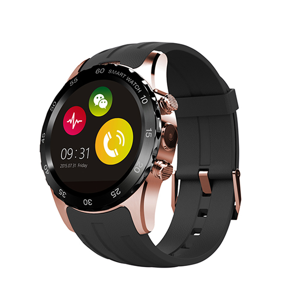 Mobile Watch Phone KW08 font b Smartwatches b font for Android Phones with Sim Smart Bluetooth