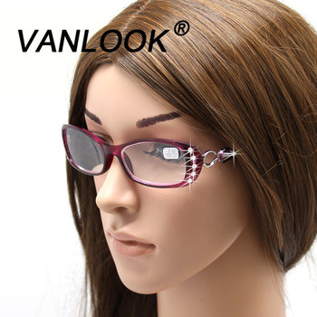 Strass lunettes de lecture femmes Gafas de Lectura luxe mode Spectacle + 50 + 75 100 125 150 175 200 225 250 275 + 375 + 450 + 500