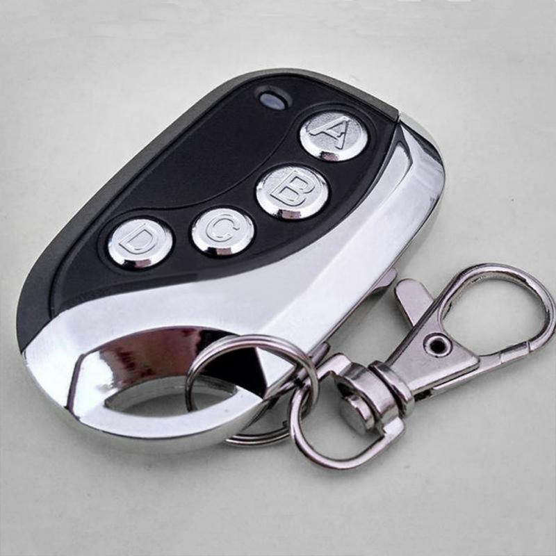 Universel coffre-fort porte de Garage électrique clonage télécommande clé Fob porte de voiture 433MHZ auto copie pour portes de Garage motos alarmes