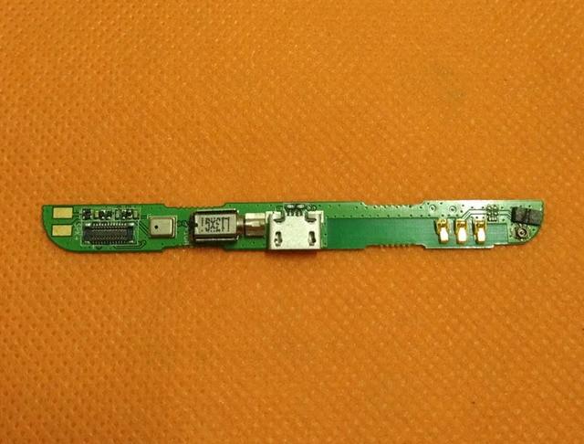 """Usado Placa Original Carga Plugue USB com Microfone Para POMP C6 MTK6589T Quad Core 5.5 """"FHD 1920x1080 frete grátis"""