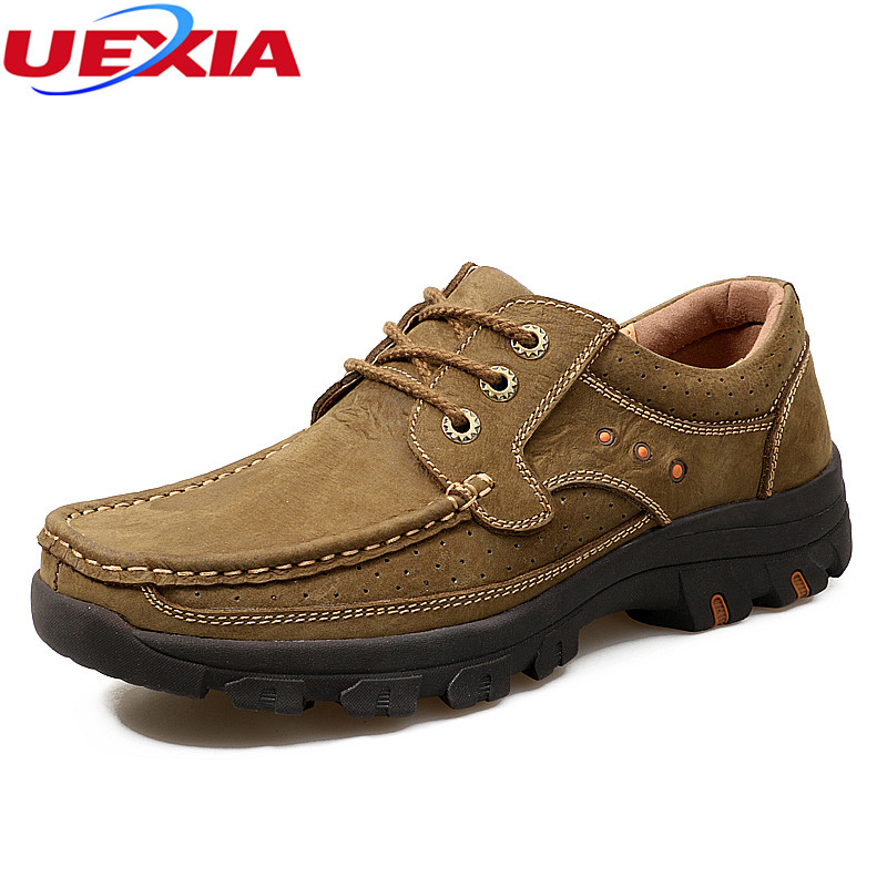Chaussures Air Automne D'affaires Appartements Vache Plein Hombre Hommes Casual Printemps Mocassins Zapatos Qualité Cuir brown Haute En Khaki Robe q67ttB