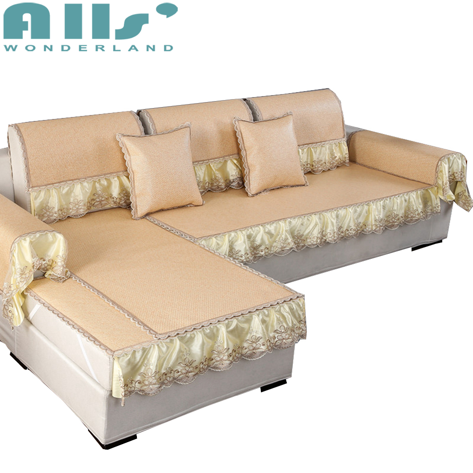 Universal Sectional Sofa Cover For Summer Sofa Slip Cover