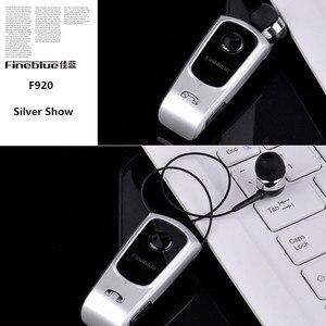 Image 3 - FineBlue F920 ワイヤレス Bluetooth イヤフォンヘッドセットインイヤーイヤホンヘッドセットサポートコール思い出させる振動襟クリップ
