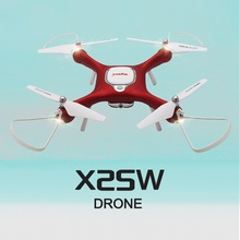 SYMA X25W Optical Flow RC Drone with 720P HD Camera Fixed Height Real Time Aerial Photograph drone profissional dron